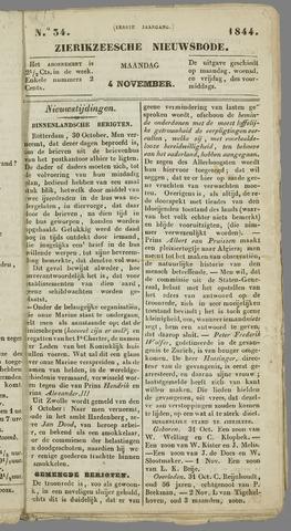 Zierikzeesche Nieuwsbode 1844-11-04