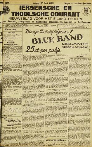 Ierseksche en Thoolsche Courant 1932-06-17