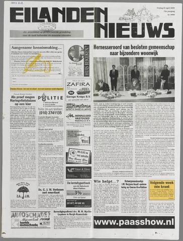 Eilanden-nieuws. Christelijk streekblad op gereformeerde grondslag 2000-04-21