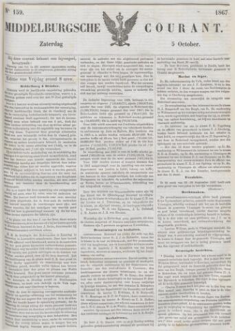 Middelburgsche Courant 1867-10-05