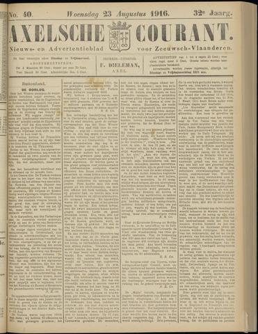 Axelsche Courant 1916-08-23