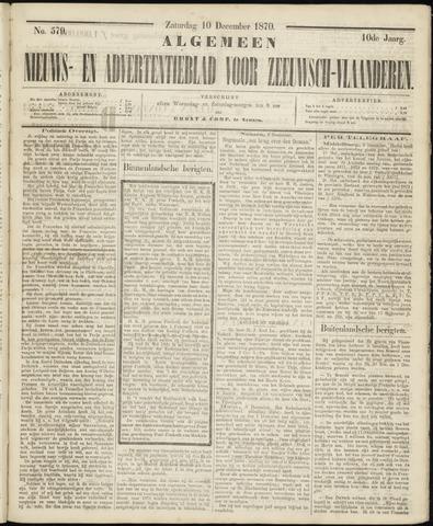 Ter Neuzensche Courant. Algemeen Nieuws- en Advertentieblad voor Zeeuwsch-Vlaanderen / Neuzensche Courant ... (idem) / (Algemeen) nieuws en advertentieblad voor Zeeuwsch-Vlaanderen 1870-12-10