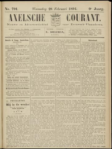 Axelsche Courant 1894-02-28