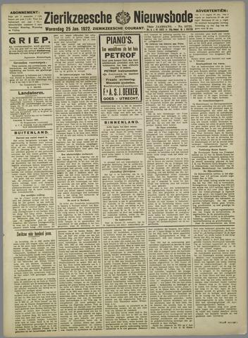 Zierikzeesche Nieuwsbode 1922-01-25