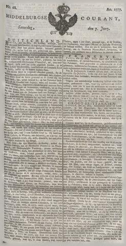 Middelburgsche Courant 1777-06-07