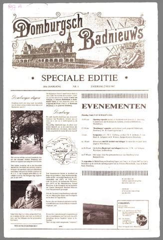 Domburgsch Badnieuws 1987