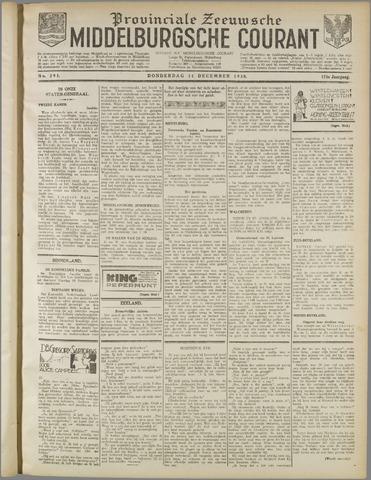 Middelburgsche Courant 1930-12-11