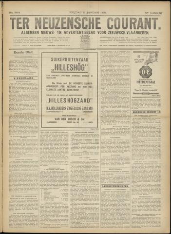 Ter Neuzensche Courant. Algemeen Nieuws- en Advertentieblad voor Zeeuwsch-Vlaanderen / Neuzensche Courant ... (idem) / (Algemeen) nieuws en advertentieblad voor Zeeuwsch-Vlaanderen 1930-01-31