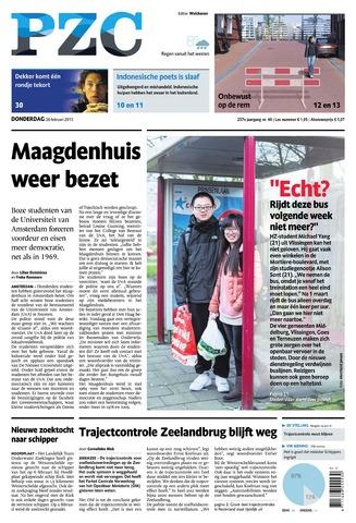 Provinciale Zeeuwse Courant 2015-02-26