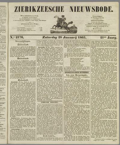 Zierikzeesche Nieuwsbode 1865-01-28
