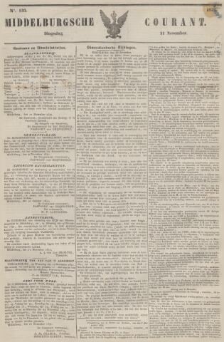 Middelburgsche Courant 1851-11-11