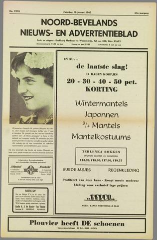 Noord-Bevelands Nieuws- en advertentieblad 1960-01-16