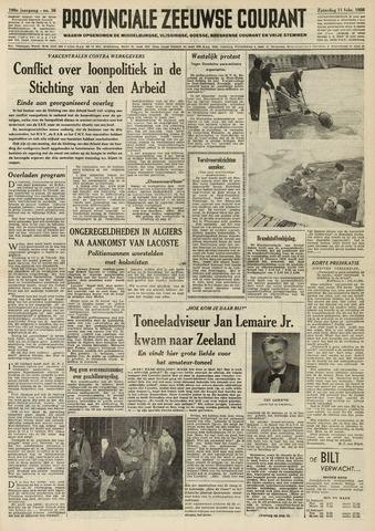 Provinciale Zeeuwse Courant 1956-02-11