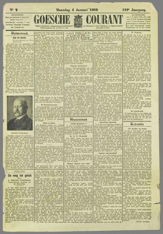 Goessche Courant 1932-01-04