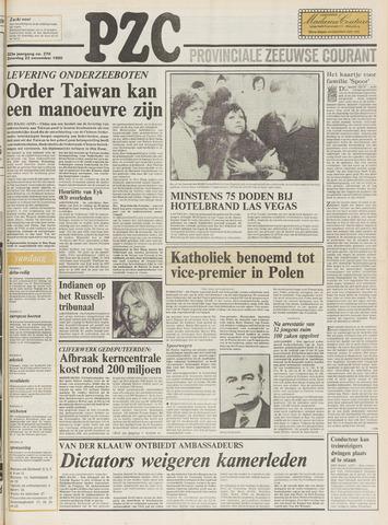 Provinciale Zeeuwse Courant 1980-11-22