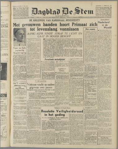 de Stem 1949-02-09