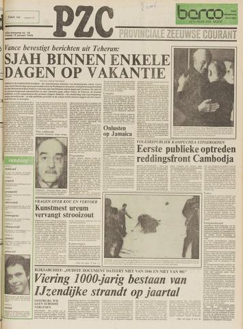 Provinciale Zeeuwse Courant 1979-01-12