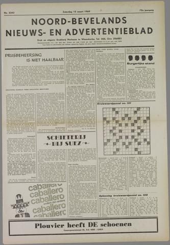 Noord-Bevelands Nieuws- en advertentieblad 1969-03-15