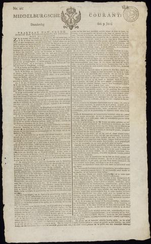 Middelburgsche Courant 1814-06-09