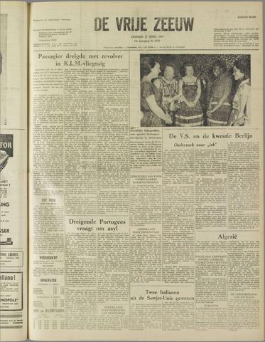 de Vrije Zeeuw 1962-04-17