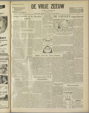 de Vrije Zeeuw 1958-09-27