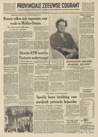 Provinciale Zeeuwse Courant 1956-04-27