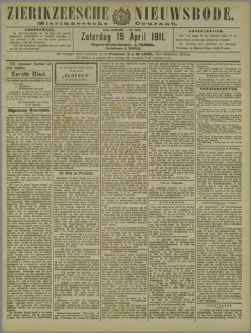 Zierikzeesche Nieuwsbode 1911-04-15