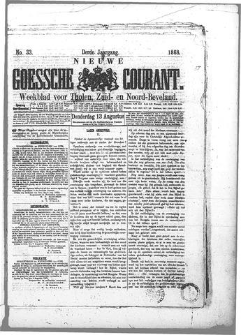 Nieuwe Goessche Courant 1868-08-13