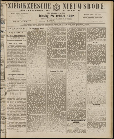 Zierikzeesche Nieuwsbode 1902-10-28