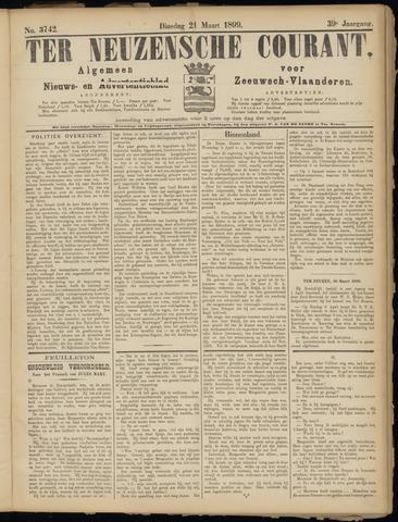 Ter Neuzensche Courant. Algemeen Nieuws- en Advertentieblad voor Zeeuwsch-Vlaanderen / Neuzensche Courant ... (idem) / (Algemeen) nieuws en advertentieblad voor Zeeuwsch-Vlaanderen 1899-03-21