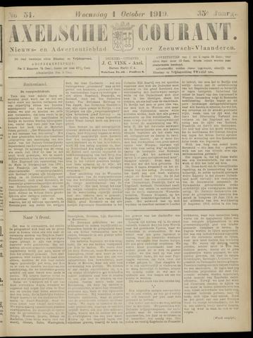 Axelsche Courant 1919-10-01