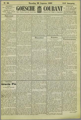 Goessche Courant 1927-08-22