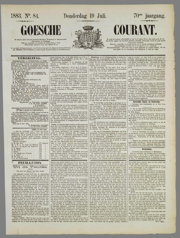 Goessche Courant 1883-07-19
