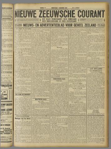 Nieuwe Zeeuwsche Courant 1927-12-01