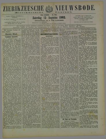 Zierikzeesche Nieuwsbode 1903-08-15