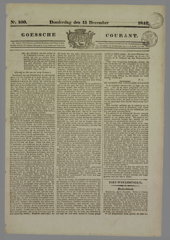 Goessche Courant 1842-12-15
