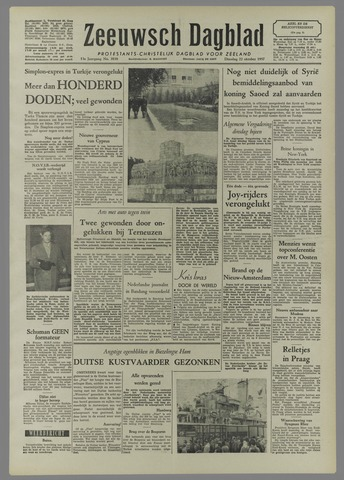Zeeuwsch Dagblad 1957-10-22