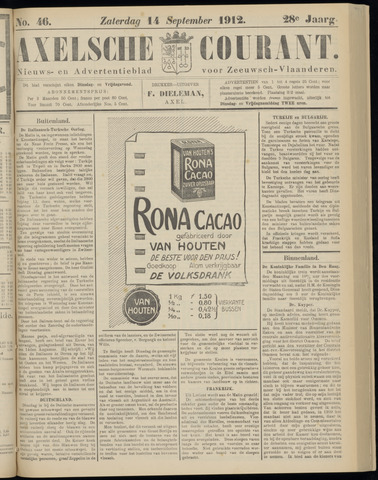 Axelsche Courant 1912-09-14