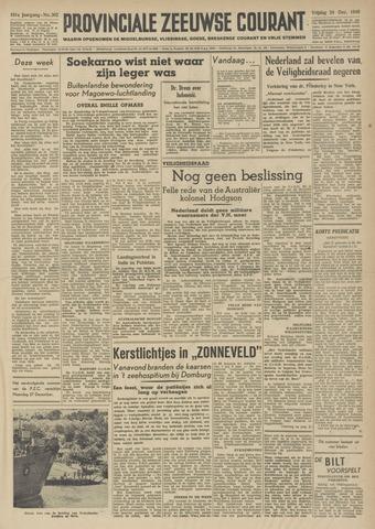 Provinciale Zeeuwse Courant 1948-12-24