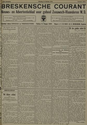 Breskensche Courant 1934-10-16