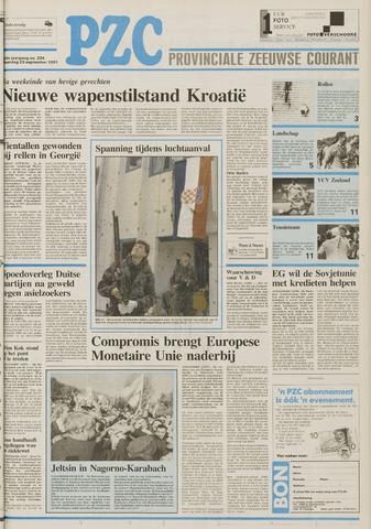 Provinciale Zeeuwse Courant 1991-09-23