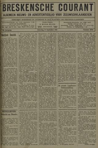 Breskensche Courant 1921-09-10