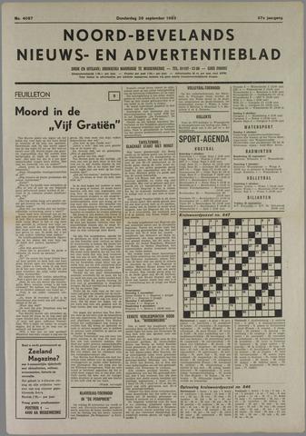 Noord-Bevelands Nieuws- en advertentieblad 1983-09-29