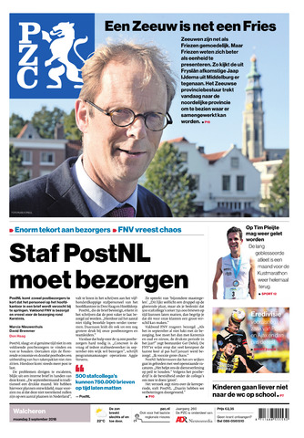 Provinciale Zeeuwse Courant 2018-09-03