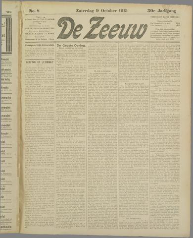 De Zeeuw. Christelijk-historisch nieuwsblad voor Zeeland 1915-10-09