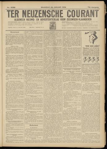 Ter Neuzensche Courant. Algemeen Nieuws- en Advertentieblad voor Zeeuwsch-Vlaanderen / Neuzensche Courant ... (idem) / (Algemeen) nieuws en advertentieblad voor Zeeuwsch-Vlaanderen 1934-01-29
