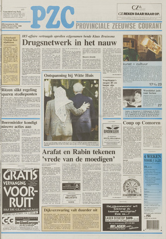 Provinciale Zeeuwse Courant 1995-09-29