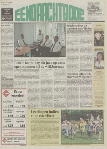 Eendrachtbode (1945-heden)/Mededeelingenblad voor het eiland Tholen (1944/45) 2003-05-22