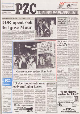 Provinciale Zeeuwse Courant 1989-11-10