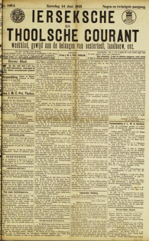 Ierseksche en Thoolsche Courant 1913-06-14